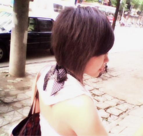 短发女生高冷头像_味 的 短发 2014 女人 味 短发